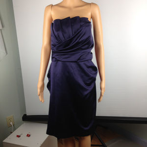 Strapless Cocktail / Bridesmaid Dress - size 14